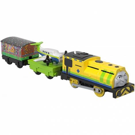Fisher Price Thomas Friends Trackmaster: Trains With 2 Wagons - Raul Emerson (GHK77)