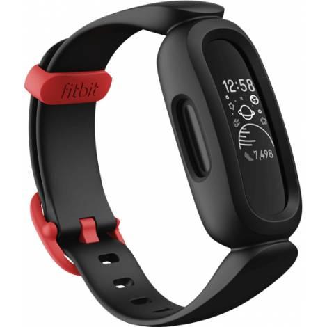 FITBIT Αce 3 (for Kids) Activity Tracker - Μαύρο/Κόκκινο (FB419BKRD)