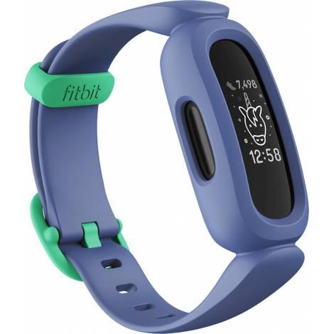 FITBIT Αce 3 (for Kids) Activity Tracker - Μπλε/Πράσινο (FB419BKBU)