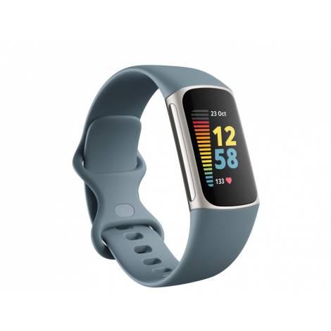 Fitbit Charge 5 Activity Tracker - Steel Blue (FB421SRBU)
