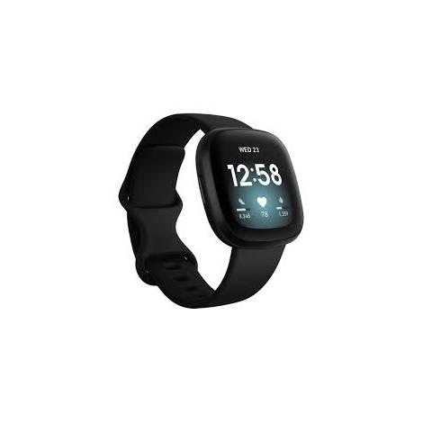 Fitbit Smartwatch Versa 3 - Black (FB511BKBK)