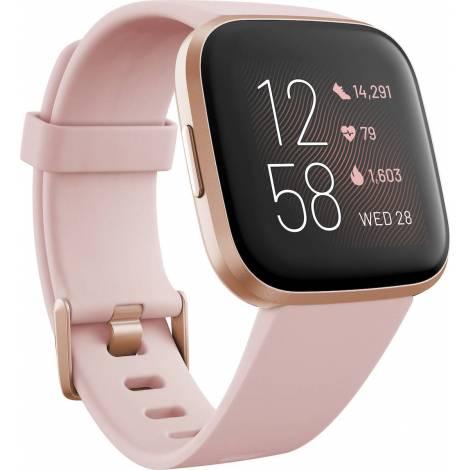 Fitbit Versa 2 Smartwatch - Ροζ / Ροζ Χρυσό