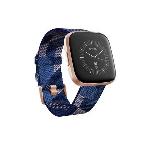 Fitbit Versa 2 Smartwatch Special Edition - Μπλέ-Ροζ / Ροζ Χρυσό