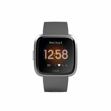 Fitbit Versa Lite Smartwatch - Γκρι / Ασημί