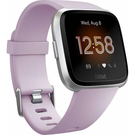 Fitbit Versa Lite Smartwatch - Ροζ / Ασημί