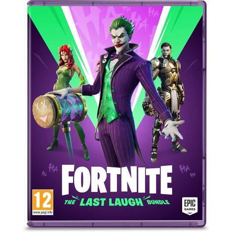 Fortnite: The Last Laugh Bundle  (Code In A Box)  (Xbox One,XBOX Series X)