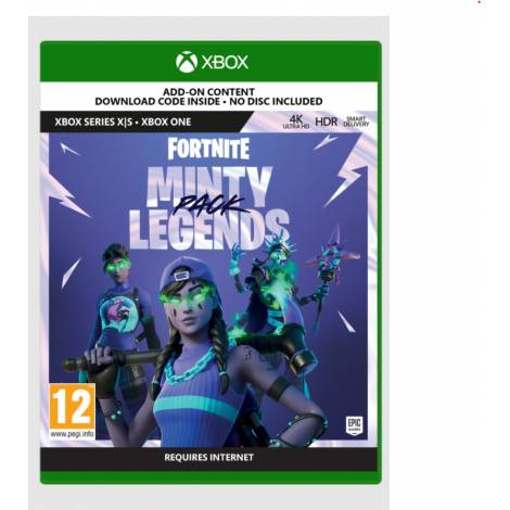 Fortnite: The Minty Legends Pack (Code-in-a-Box) (Xbox Series X)