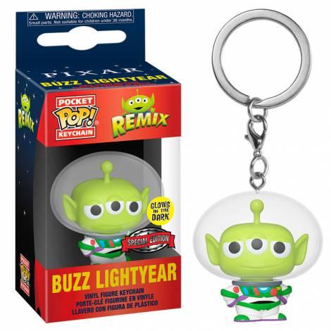 Funk POP! Disney Pixar Alien Remix - Buzz Lightyear (Glows In The Dark) (Special Edition) Vinyl Figure Keychain