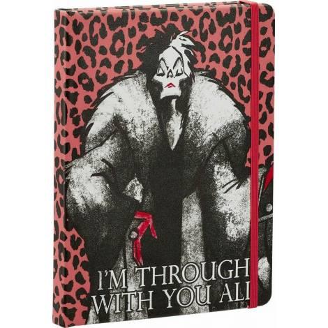 Funko Disney Villains : Cruella De Vil Notebook (UT-DI06555)