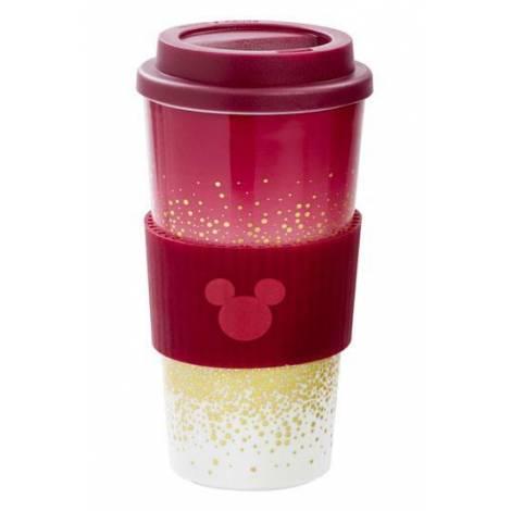 Funko Mickey Berry: Plastic Lidded Mug: Berry Glitter (UT-DI06363)