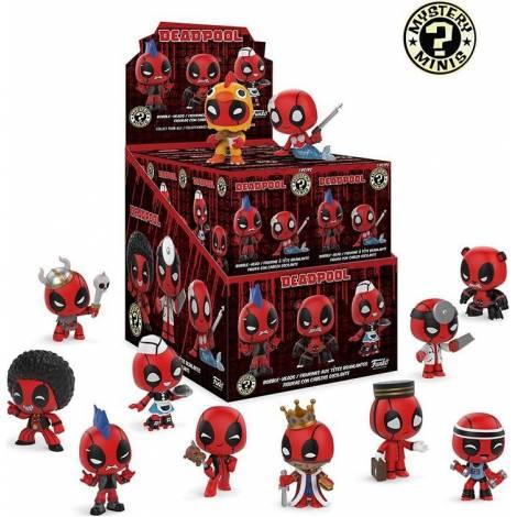 Funko Mystery Minnis Marvel : Deadpool 13th Blind Box (Τυχαία φιγούρα)