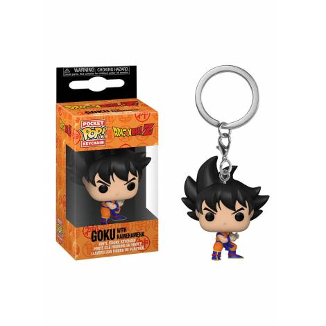 Funko Pocket POP! Dragon Ball Z - Goku With Kamehameha Keychain