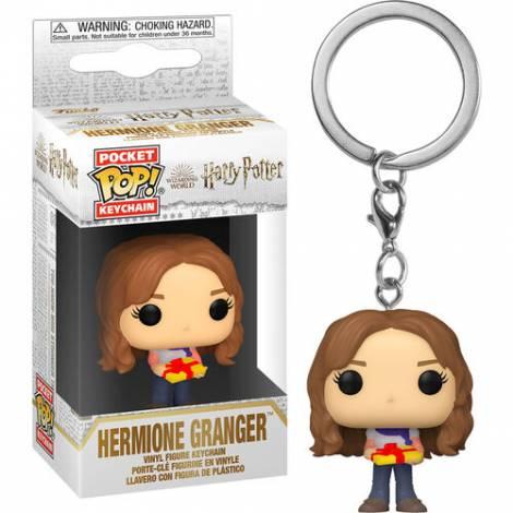 Funko Pocket POP!  Harry Potter Holiday - Hermione Vinyl Figure Keychain