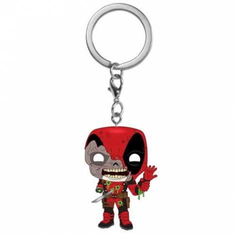 Funko Pocket POP! Keychain: Marvel Zombs - Deadpool Vinyl Figure Keychain