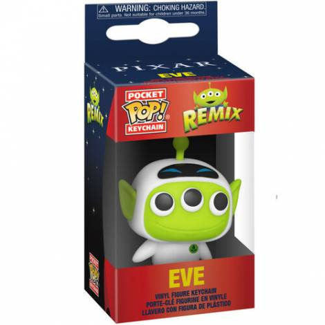 Funko Pocket POP! Pixar- Alien as Eve Figure Keychain