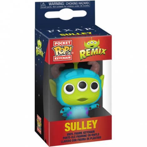 Funko Pocket POP! Pixar- Alien as Sulley Figure Keychain