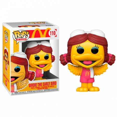 Funko POP! Ad Icons: McDonalds- Birdie #110 Vinyl Figure