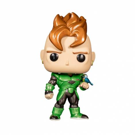 Funko POP! Animation: Dragonball Z - Android 16 (Special Edition) #708 Vinyl Figure