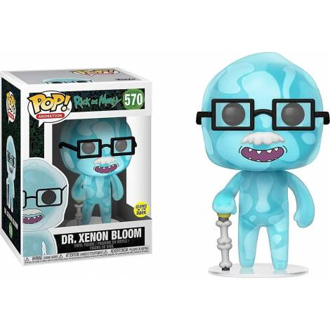 Funko POP! Animation: Rick and Morty S6 - Dr. Xenon Bloom #570 Vinyl Figure