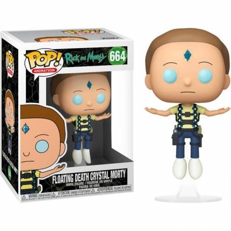 Funko POP! Animation Rick & Morty - Floating Death Crystal Morty #664 Vinyl Figure