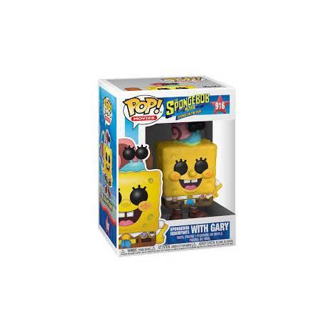 Funko POP! Sponge Bob - SpongeBob in Camping Gear #916 Figure