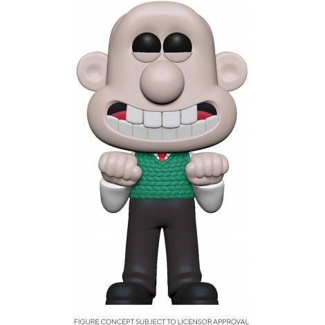 Funko POP! Animation: Wallace & Gromit - Wallace # Vinyl Figure