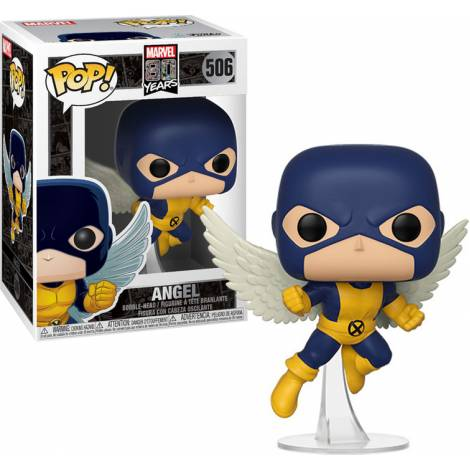 Funko POP Bobble Marvel: 80th-First Appearance-Angel Collectible Figure #506