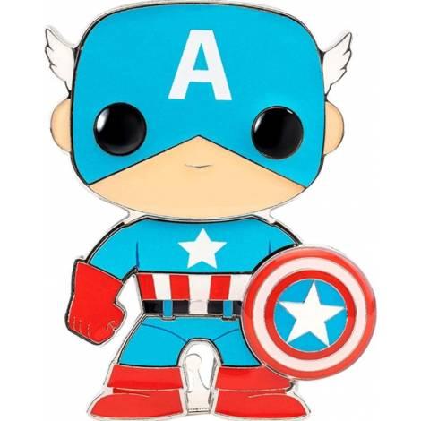 Funko POP! Captain America Pin (MVPP0008)