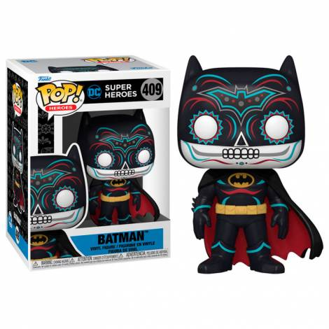Funko POP! DC Super Heroes - Batman (Dia De Los DC) #409 Vinyl Figure