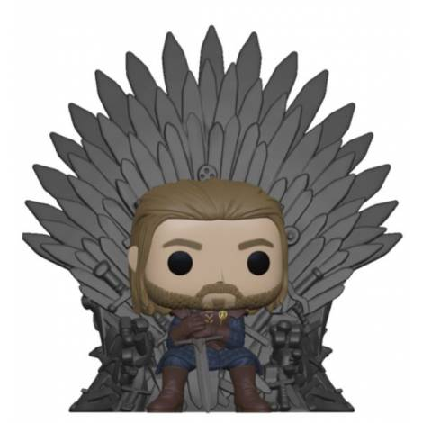 Funko POP! Deluxe: GOT - Ned Stark on Throne # Vinyl Figure