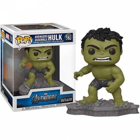 Funko POP! Deluxe Marvel Avengers Assemble - Hulk #585 Vinyl Figure