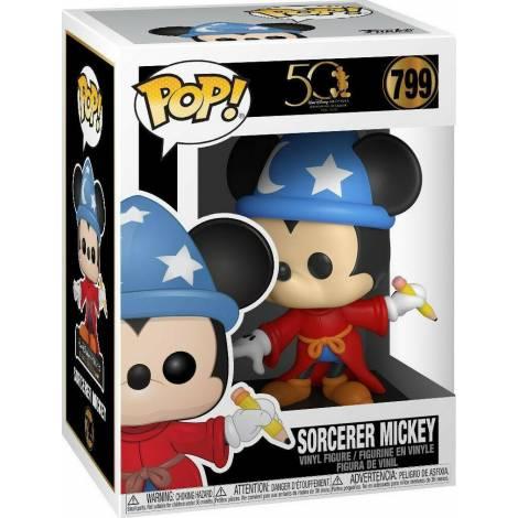 Funko POP! Disney: Archives - Sorcerer Mickey #799 Vinyl Figure