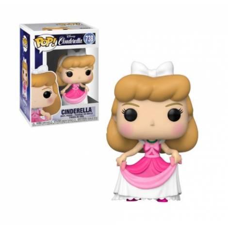 Funko POP! Disney: Cinderella - Cinderella in Pink Dress #738 Vinyl Figure