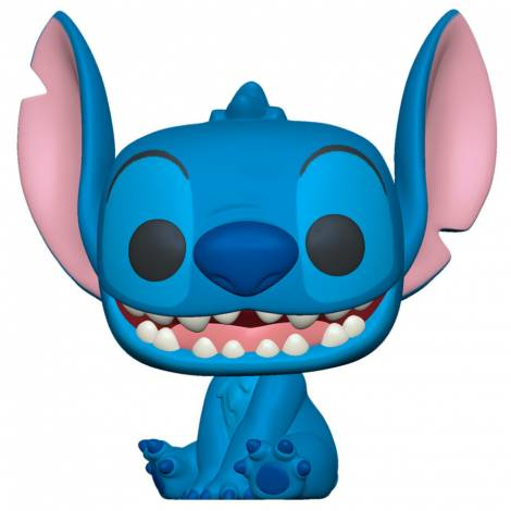 Funko POP! Disney: Lilo&Stitch – Smiling Seated Stitch Vinyl Figure