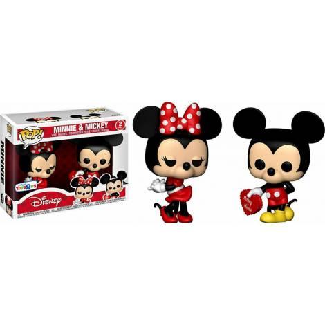 Funko POP! Disney : Minnie & Mickey 2-Pack Vinyl Figures