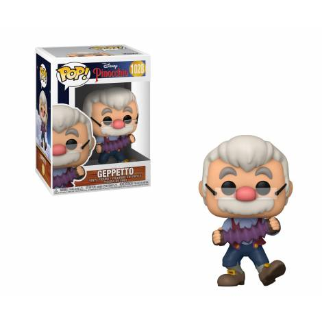 Funko POP! Disney: Pinocchio - Geppetto w/Accordion #1028 Vinyl Figure