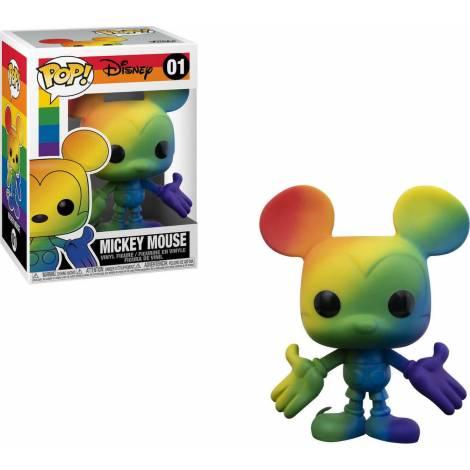 Funko POP Disney: Pride- Mickey Mouse (Rainbow) #01 Vinyl Figure