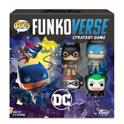 Funko POP! Funkoverse: DC Comics - Base Set (English) Board Game