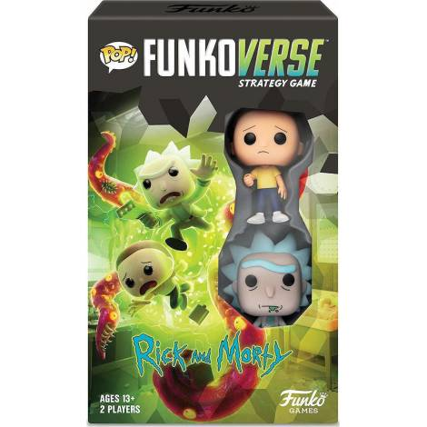 Funko Pop! Funkoverse: Rick and Morty - Expandalone (Επιτραπέζιο Παιχνίδι στα Αγγλικά με 2 Φιγούρες)