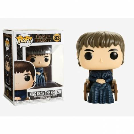 Funko POP! Game of Thrones - King Bran the Broken #83 Vinyl Figure