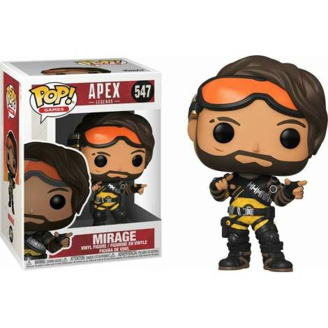 Funko POP! Games: Apex Legends - Mirage #547 Vinyl Figure