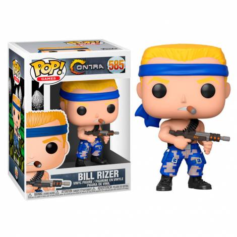 Funko POP! Games: Contra- Bill #585 Vinyl Figure