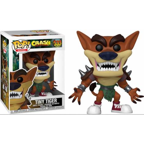 Funko POP! Games: Crash Bandicoot S3 - Tiny Tiger #533 Vinyl Figure