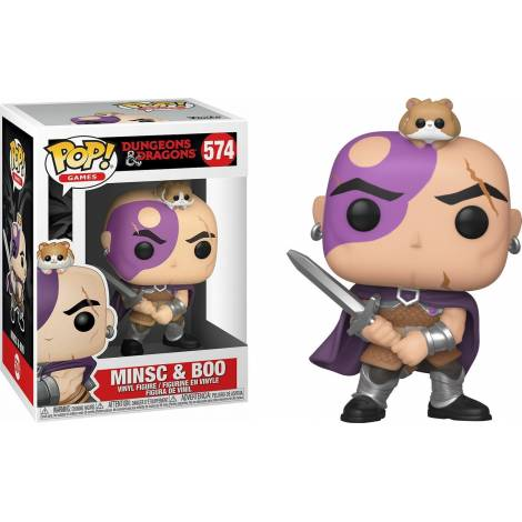 Funko POP! Games: Dungeons & Dragons - Minsc & Boo #574 Vinyl Figure