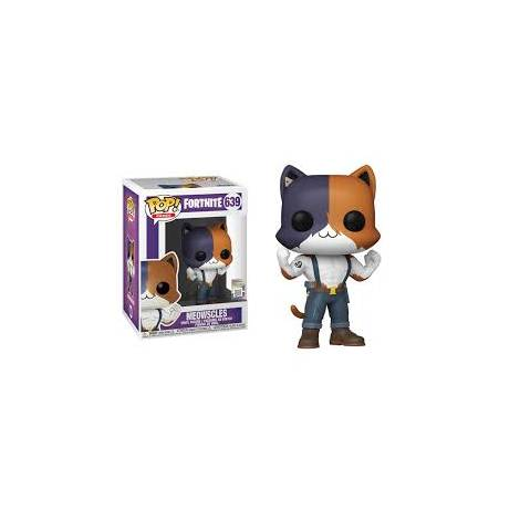 Funko POP! Games: Fortnite - Meowscles #639 Vinyl Figure