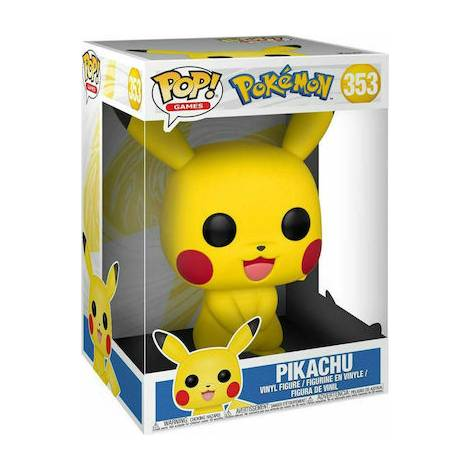 Funko POP! Games : Pokemon - Pikachu (25cm) #353 Vinyl Figure