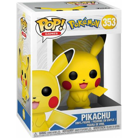 Funko POP! Games : Pokemon - Pikachu #353 Vinyl Figure