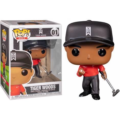 Funko POP! Golf Tiger Woods (Red Shirt) #01
