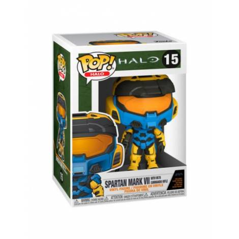 Funko POP! Halo - Spartan Mark VII With VK78 Commando Rifle #15 Vinyl Figure