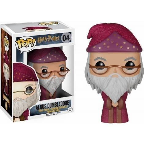 Funko POP! Harry Potter - Albus Dumbledore #04 Figure - με χτυπημένο κουτάκι
